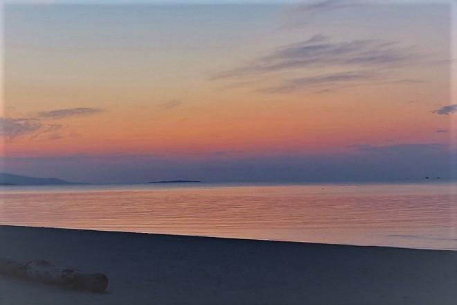 竹富島 コンドイビーチの夕焼け(1)