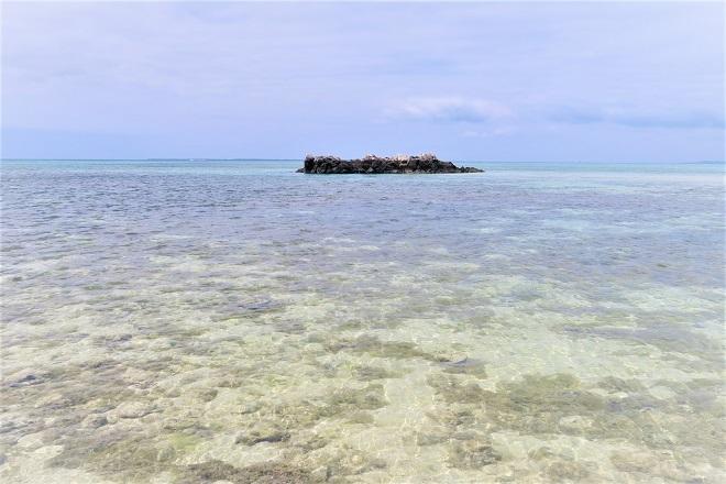 2018竹富島旅行 カイジ浜(2)