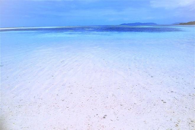 2018竹富島旅行 コンドイビーチ(2)