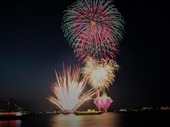 2018横浜開港祭花火(1)