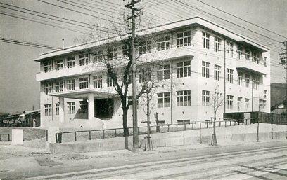 京都市電気局共済病院竣工記念002