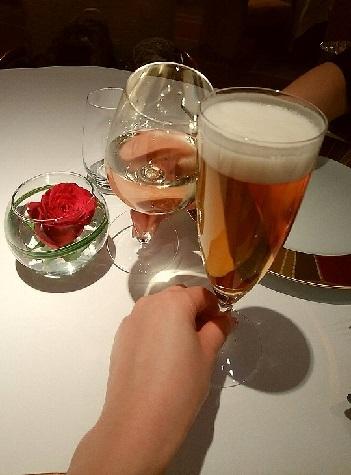 レセゾン 乾杯