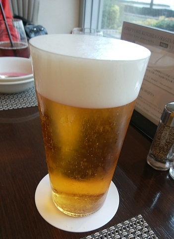 シェフズライブキッチン ビール