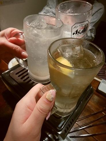 マルウシミート 乾杯