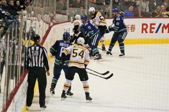 32Canucks VS Boston18選手IMG_0228