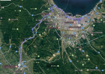 青森桜GPS