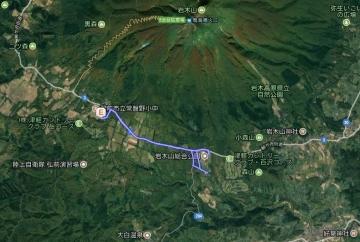 GPS桜並木 (2)