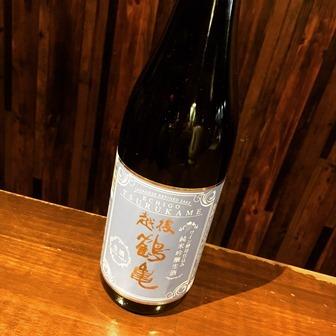 越後鶴亀 ワイン酵母仕込み 純米吟醸生酒