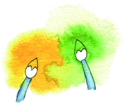水彩で素早く効率よく描くコツ