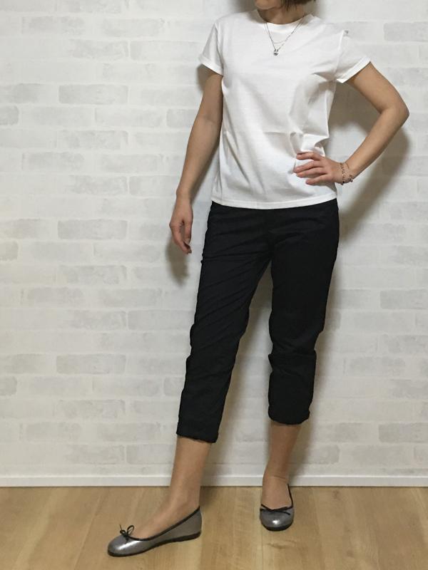 スールの半袖シンプルTシャツ