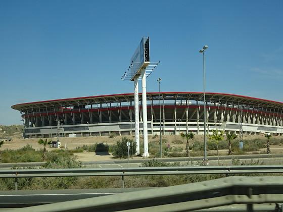 スペインサッカー場