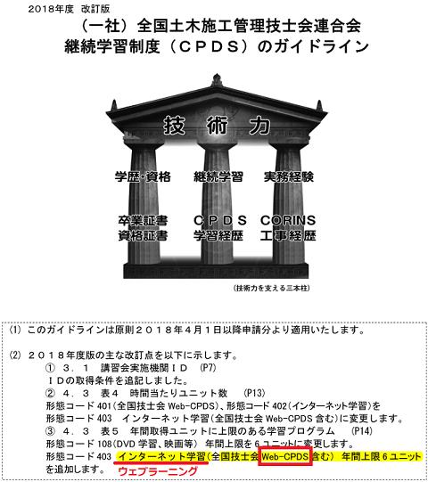 CPDSガイドライン2018