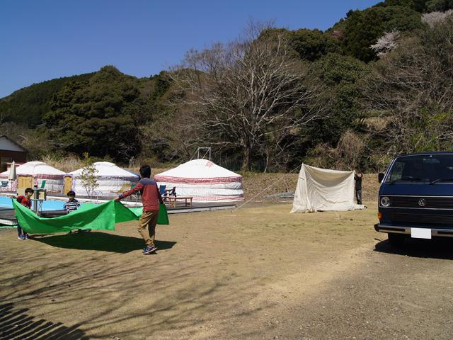 6回目のキャンプ_グリーンビレッジ川根_1日目