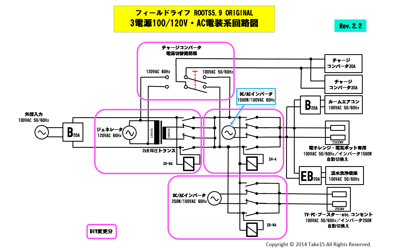 ROOTS100VAC回路図rev22