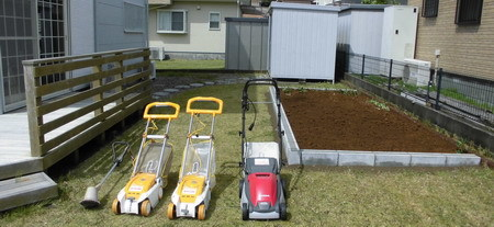 芝刈り機更新
