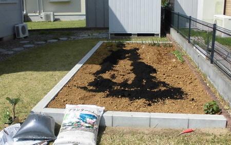 菜園堆肥1