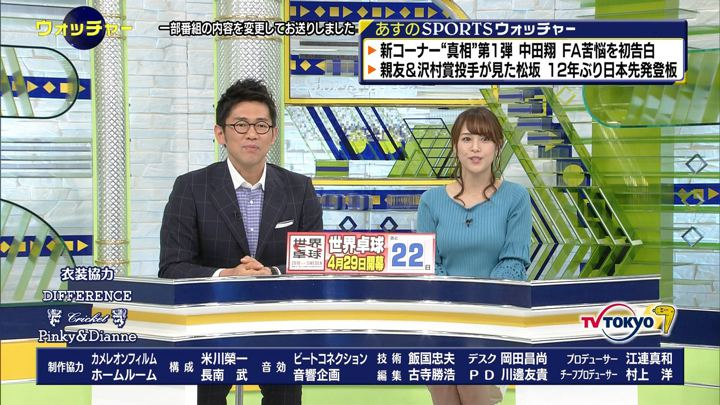 2018年04月07日鷲見玲奈の画像61枚目