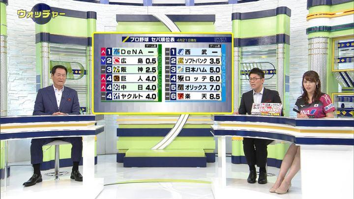 2018年04月21日鷲見玲奈の画像17枚目