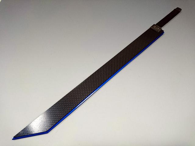剣カーボン仕様ブルー