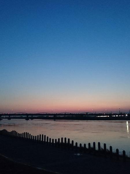 20180326夕陽