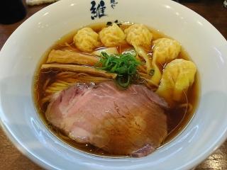 維新_ワンタン麺