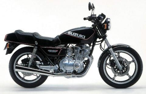 Suzuki GSX400F 81