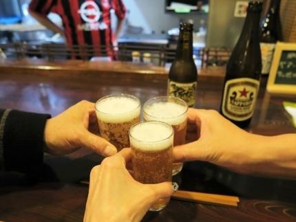 18-6-4 ビア乾杯