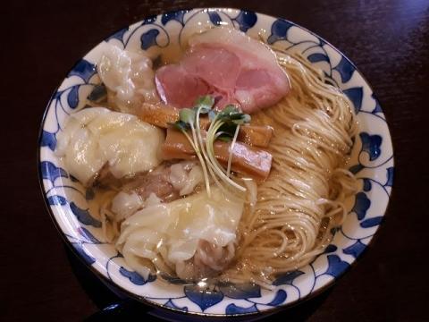 清水三条店・H30・4 ワンタン麺塩