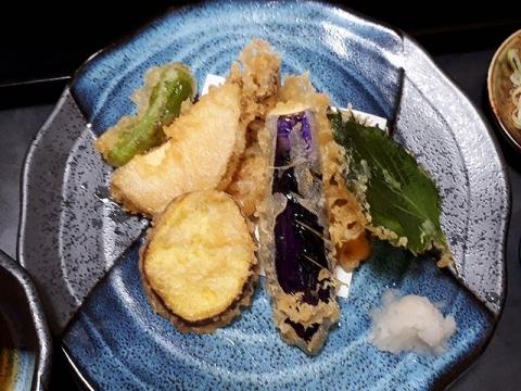 むろしま・H30・5 野菜天ぷら