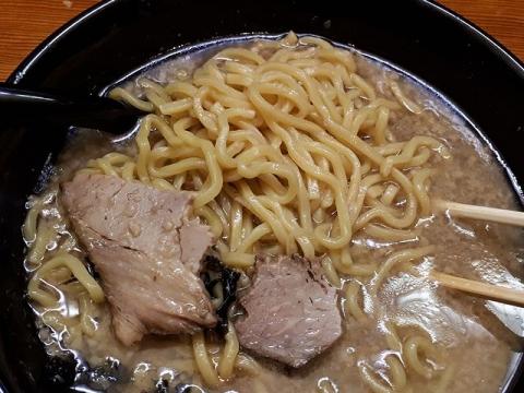 うめもと・H30・4 背油ラーメン 麺