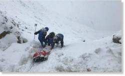 Pyrénées_sauvetピレネーで救助