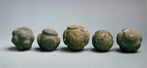 The mysterious carved balls come in all shapes and designs