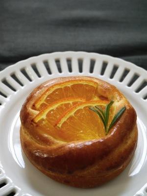 アールグレイオレンジのクリームブリオッシュ