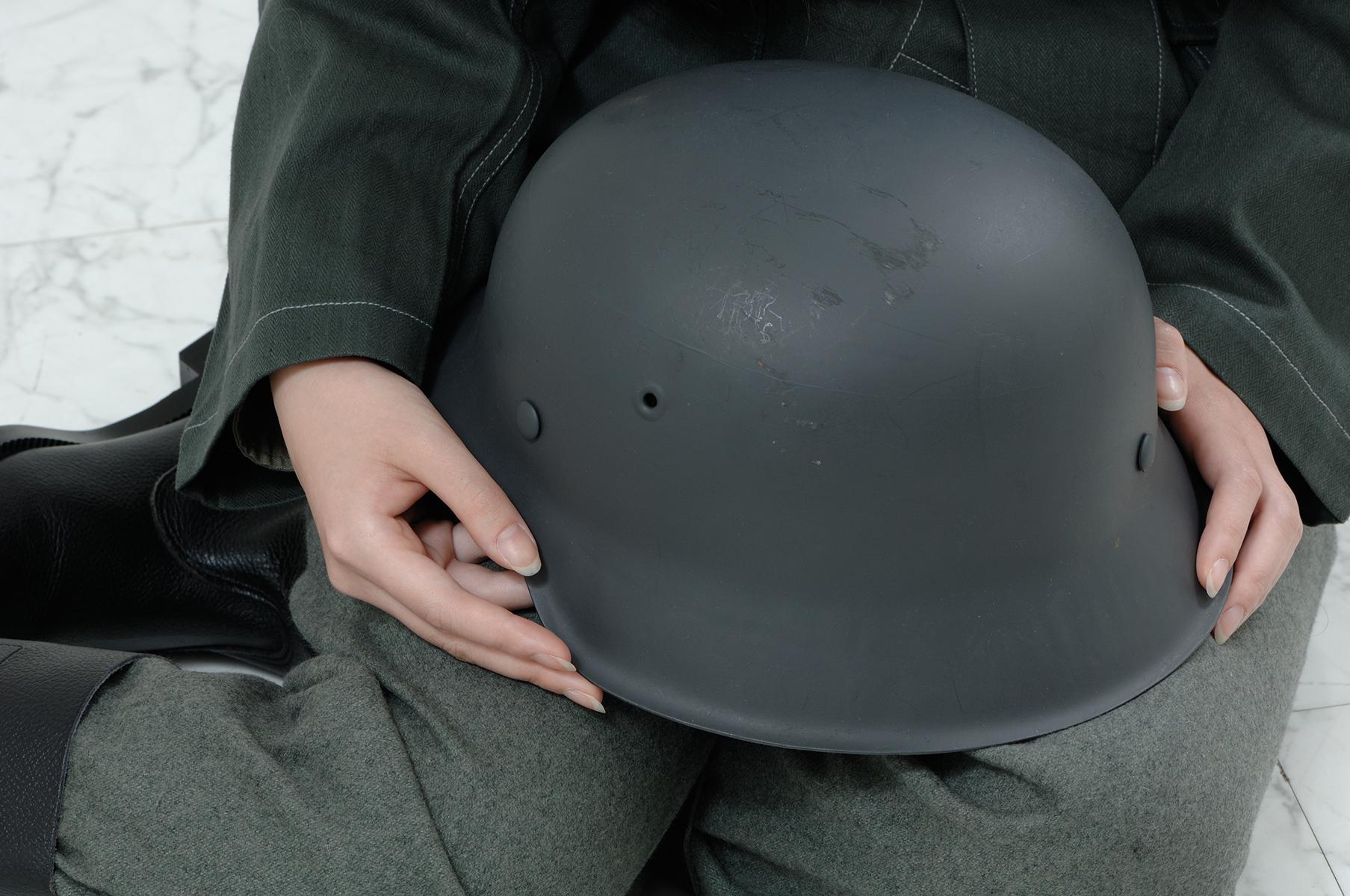 ドイツ軍M42型ヘルメット