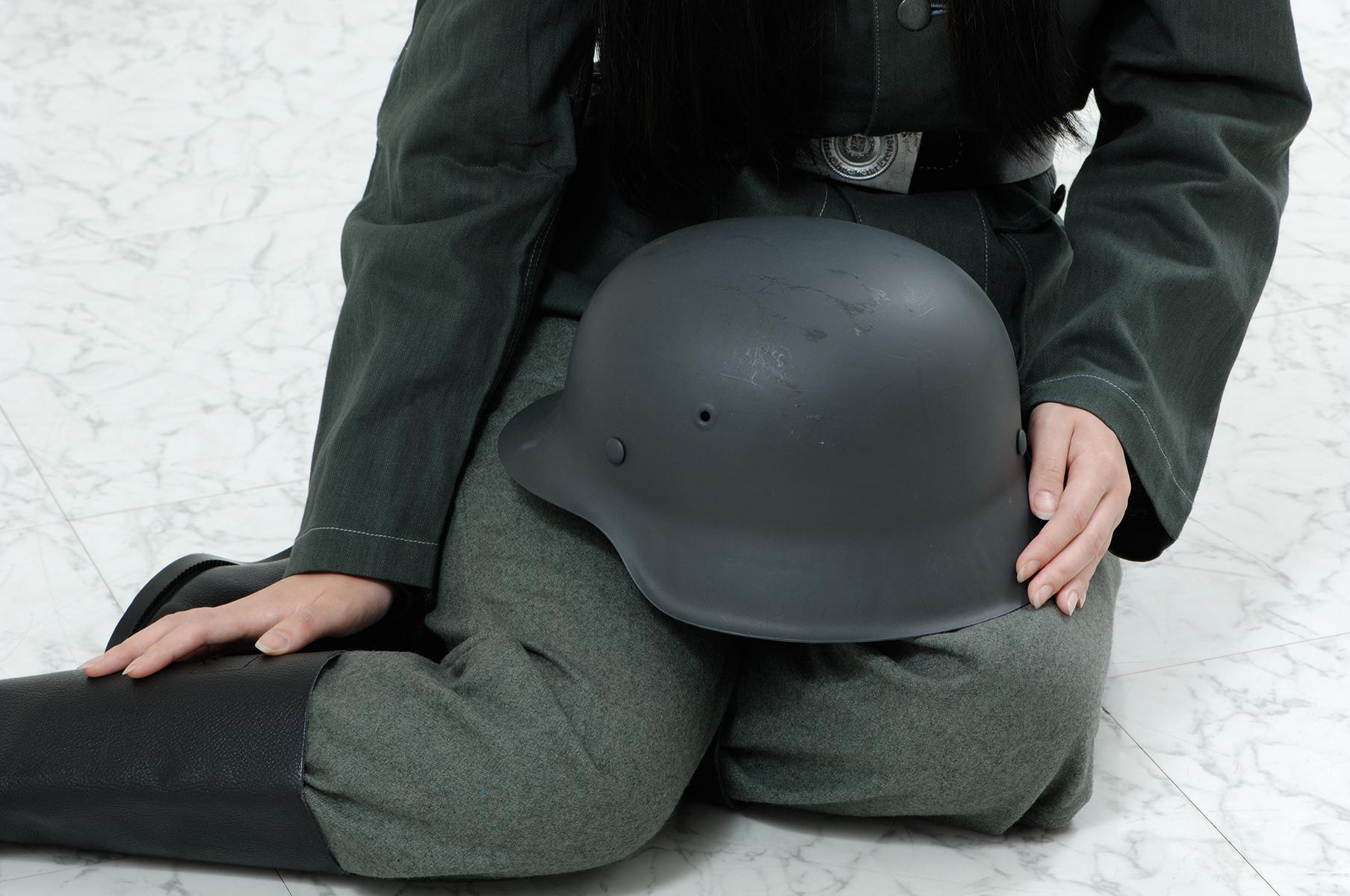 M42型ヘルメット/リペイント品