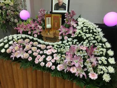 家族葬 葬式 やすらぎ会館 豊川 御津 花屋 花夢