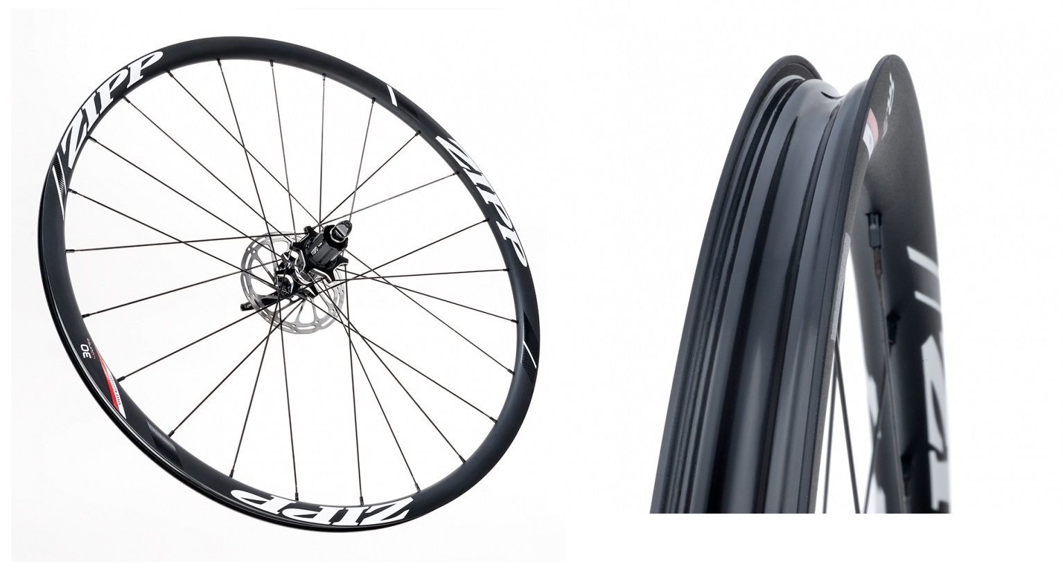 zipp 30 Course Disc-brake Clincher front