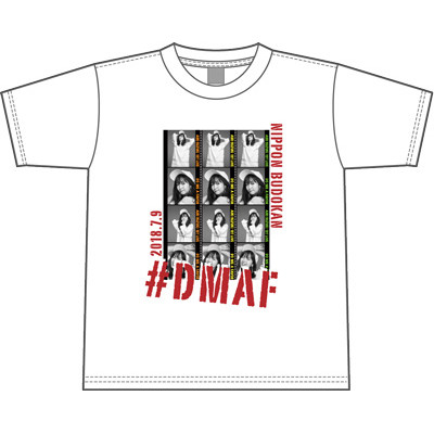 鈴木愛理 1st LIVE ~Do me a favor @ 日本武道館~ Tシャツ WHITE