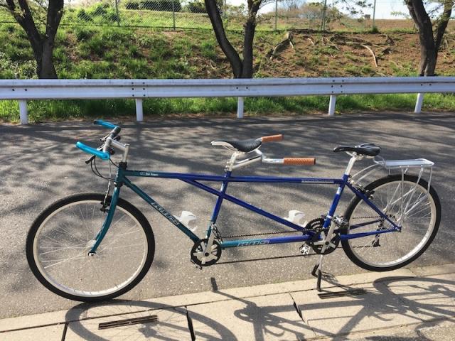 二人乗り自転車