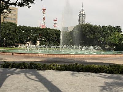 県庁前公園201508