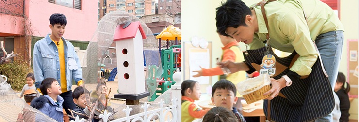 ユンホ幼稚園の先生