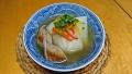 かぶとソーセージのスープ 20171109