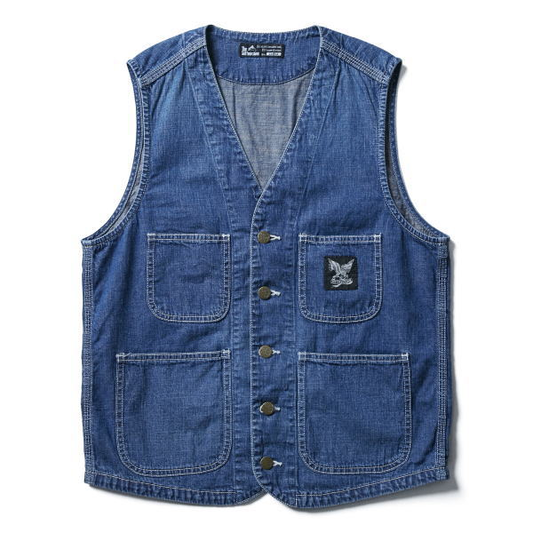 SOFTMACHINE RAILROADER VEST USED