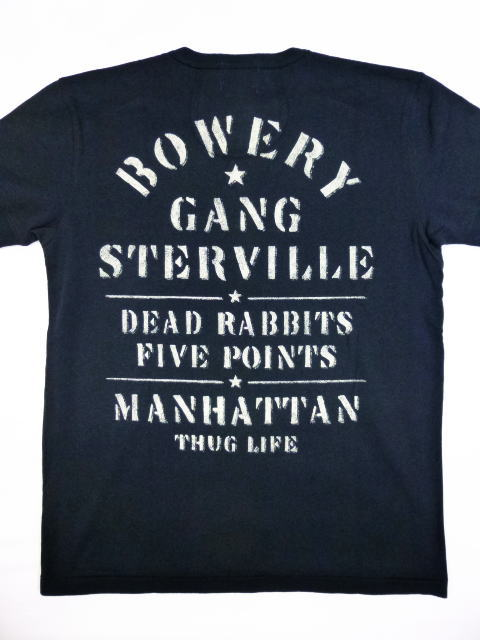 GANGSTERVILLE BOWERYS-S/S HENRY T-SHIRTS
