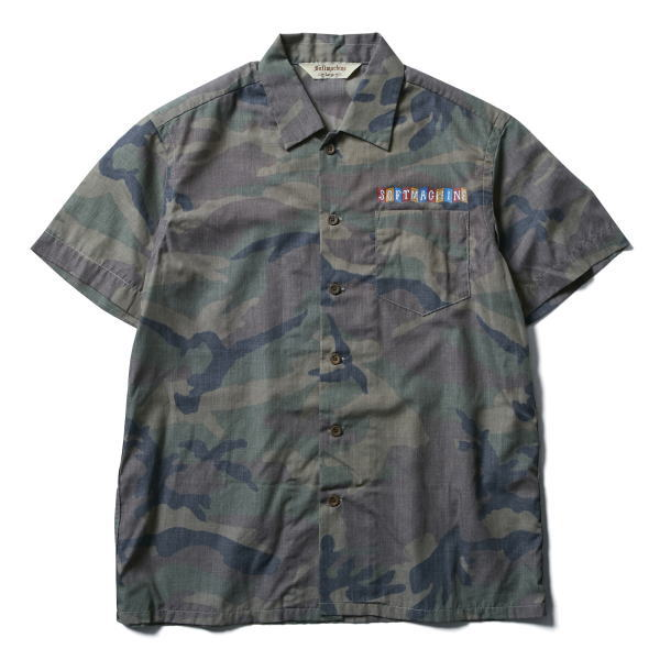 SOFTMACHINE SABER TIGER CAMO SHIRTS