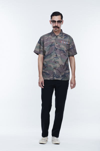 SOFTMACHINE SABER TIGER CAMO SHIRTS LAVEY PANTS MASTER GLASS