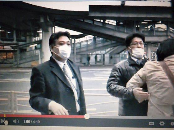 金展克は、平成25年2月23日に東神奈川駅で在特会の桜井誠会長を集団で襲撃したレイシストしばき隊の犯行グループの一人だった!