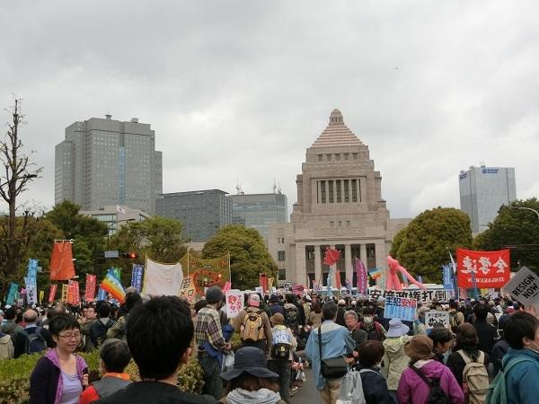 20180414国会前デモ