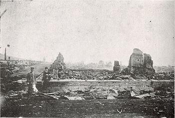 廃墟となったニコラエフスク(尼港)