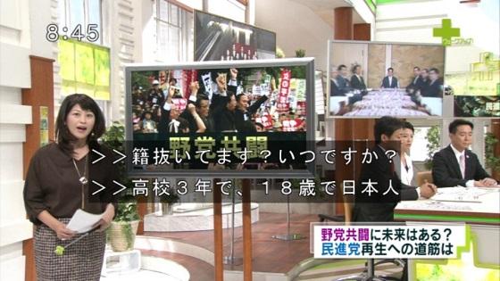 蓮舫「私は、生まれた時から日本人です」